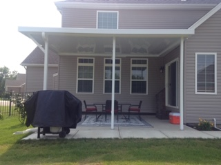 Buckeye Home Services Dayton Oh Awning Construction
