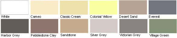 Mastic Siding Colors
